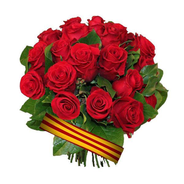 enviar rosas barcelona sant jordi