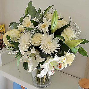 flores blancas barcelona