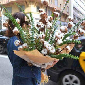 ramo-flor-algodon-barcelona