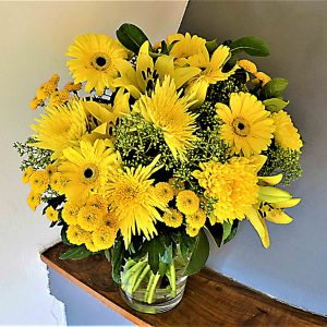 ramo flores amarillas