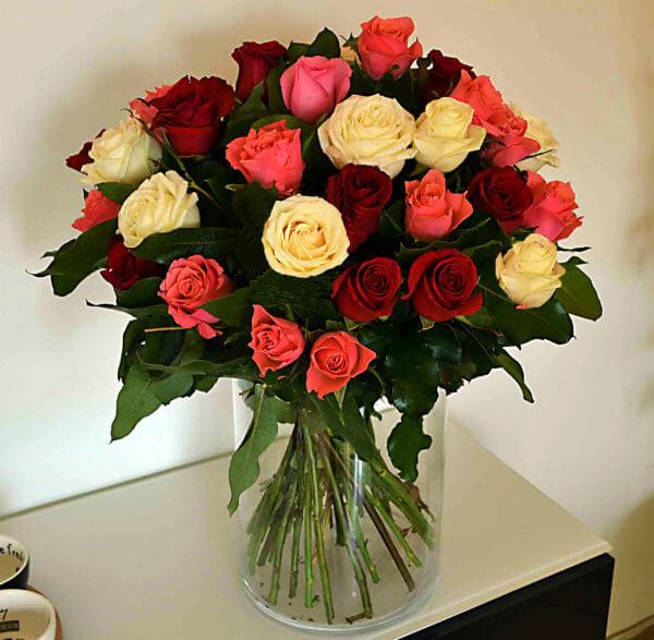 ramo-rosas-color-barcelona