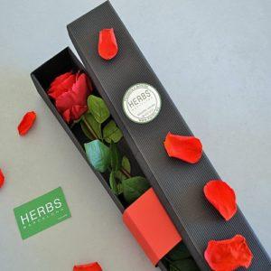 rosa con caja premium barcelona