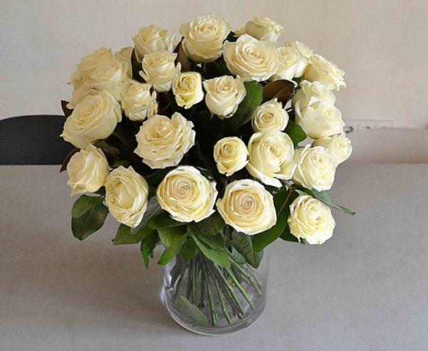rosas blancas barcelona