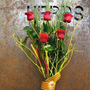 roses rojas sant jordi