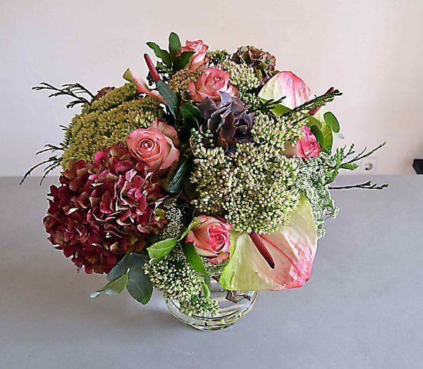 hortensias rosas barcelona
