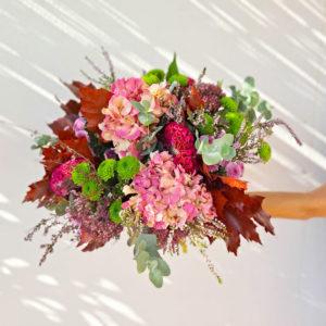 ramo-otono-hortensias-en-barcelona