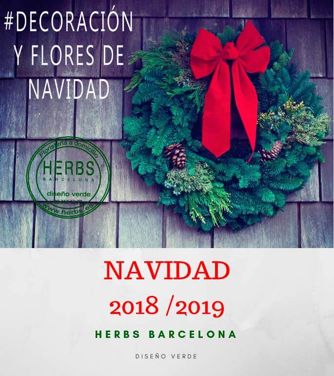 Floristería navidad Barcelona