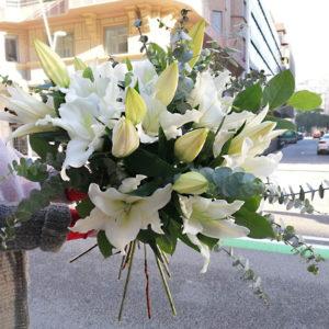enviar-ramo-lilliums-blancos