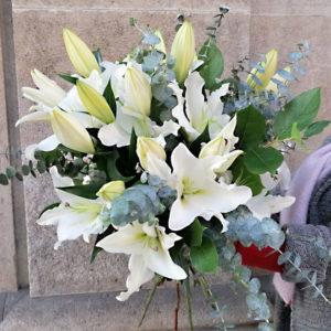 lilliums-blancos-domicilio-barcelona