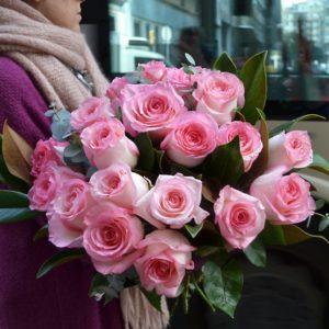 ramo-rosas-pastel-domicilio