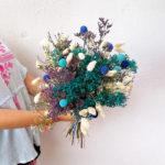 flor-seca-azul-barcelona