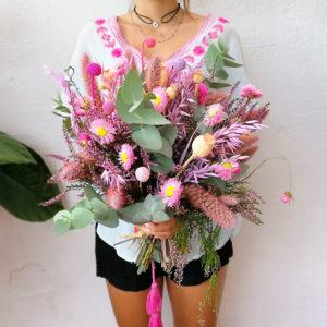 ramo-seco-rosa