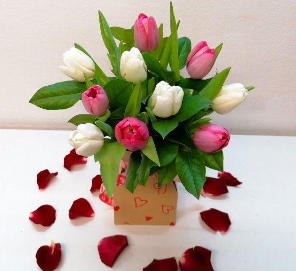 ramo-tulipanes-domicilio-barcelona