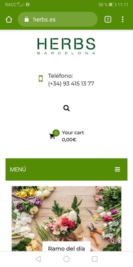 Cómo comprar flores desde el móvil