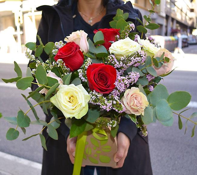 box-rosas