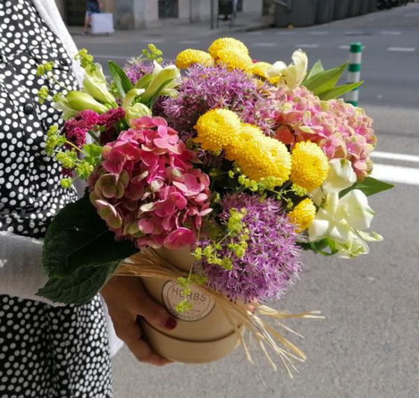 enviar-caja-flores-barcelona