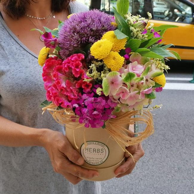 flores día del pilar